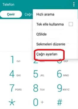 Samsung reddetme listesi nerede