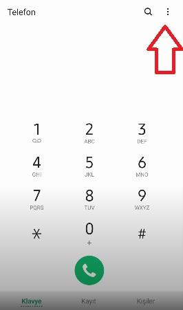 Samsung j7 arama engelleme kaldırma