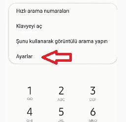 Samsung ifade engelleme yok