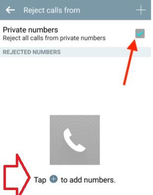 Huawei p20 lite numara engelleme