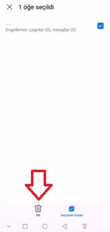 Huawei P30 Lite numara engelleme